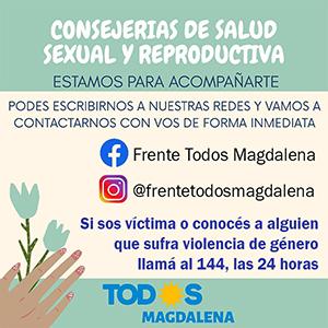 Consultorias de Salud Sexual y Reproductiva - Frente de Todos Magdalena