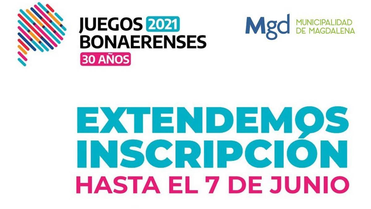 Extendieron los plazos de inscripción para los Juegos Bonaerenses