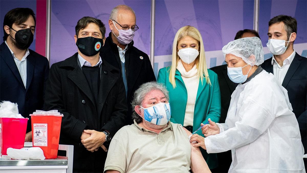 El Gobierno bonaerense espera llegar a «6 millones de personas vacunadas» la primera semana de junio