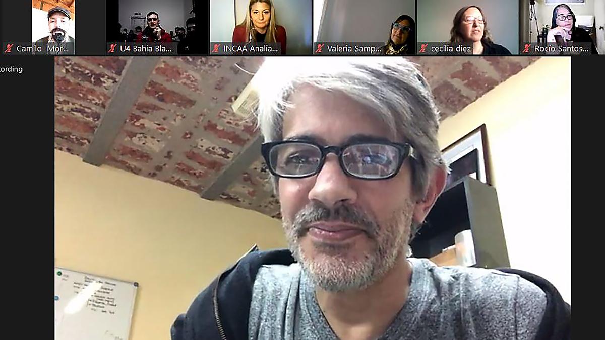 Pablo Echarri participó de un encuentro virtual de cine-debate con internos unidades penitenciarias