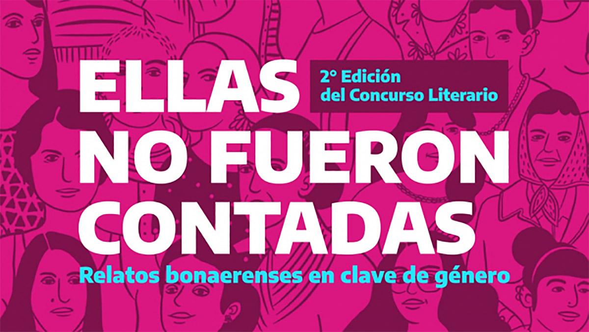 Concurso literario «Ellas no fueron contadas» en provincia de Buenos Aires