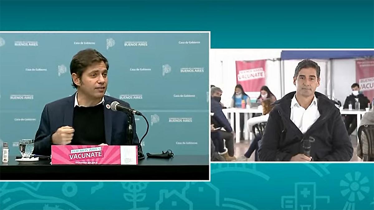 YZurieta y Kicillof: «Las camas de tristeza hoy se transformaron en sillas de alegría»