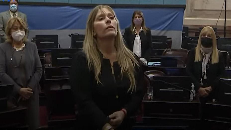 Juliana Di Tullio asumió como senadora en reemplazo de Jorge Taiana