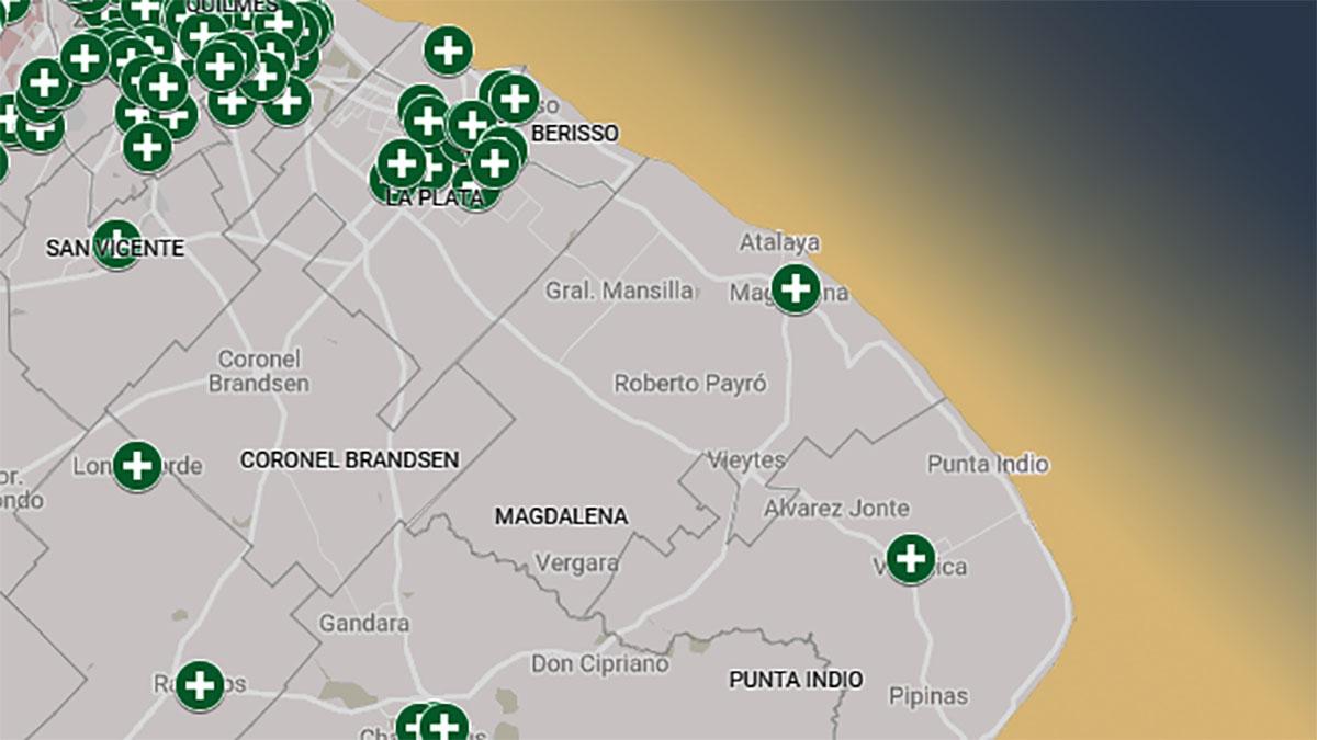 La provincia de Buenos Aires ya tiene su mapa para el acceso al aborto legal