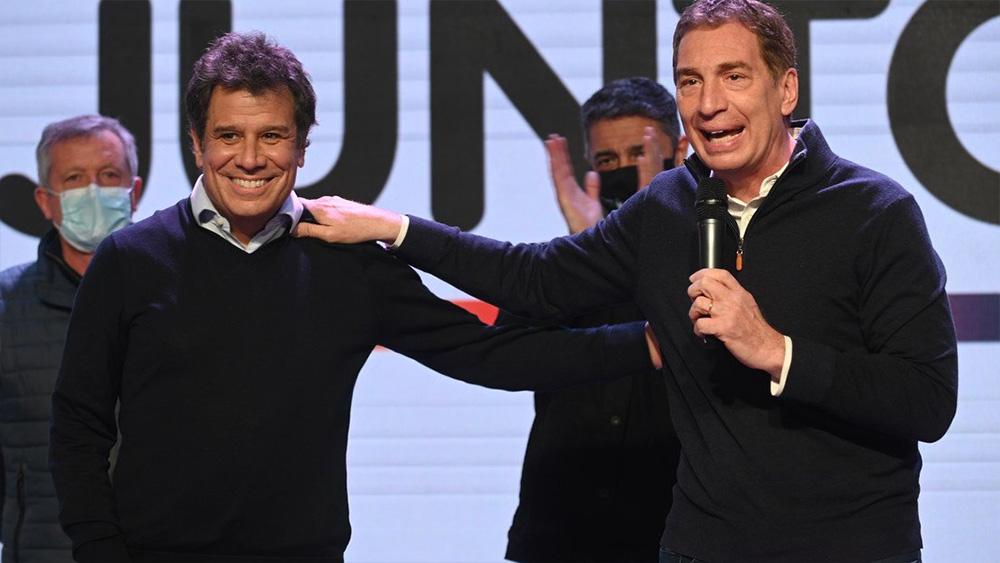 Santilli y Manes unifican listas para el 14 de noviembre