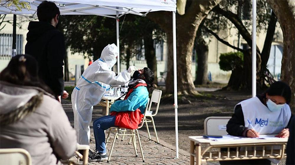 Testeos rápidos para personal electoral en Magdalena