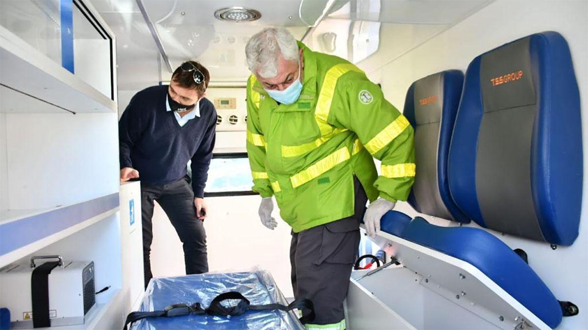 Nueva ambulancia para el hospital de Magdalena